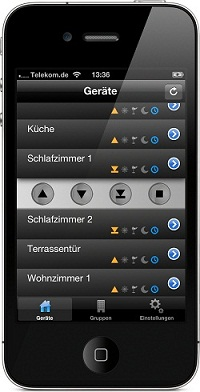 hausautomation per iphone mit mitsubishi ger ten. Black Bedroom Furniture Sets. Home Design Ideas